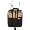 ChromaCast 7AB USA Black Hickory Drumsticks, 12 Pairs with Drumstick Bag