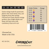 ChromaCast CC-GS-CB-L Classic Bronze Light Gauge Acoustic Guitar Strings, .011-.052, Pack of 8