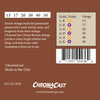 ChromaCast CC-GS-CB-M Classic Bronze Medium Acoustic Guitar Strings, .013-.056, Pack of 8