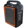 ChromaCast Portable 2 Channel 2 Way 80 watt Rechargeable Bluetooth PA Speaker w/Mic