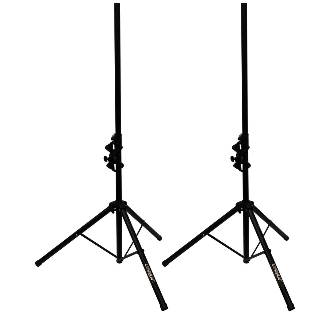 ChromaCast Folding Speaker Stand, Two Stands