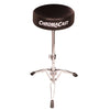 ChromaCast Value Series Double Braced Two Legged Adjustable Hi Hat Stand with Chain Drive Double Bass Pedal and Double Braced Drum Throne
