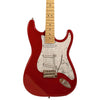 Sawtooth Candy Apple Red ES Series Electric Guitar w/ Pearloid White Pickguard - Includes: Accessories, Amp, Gig Bag & Online Lesson