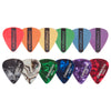 ChromaCast 12 Pick Sampler - Includes Pearl Celluloid & DuraPicks in Assorted Colors/Gauges