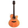 Takamine EG524SC-NS GoDpsMusic Exclusive Jumbo Cutaway Acoustic-Electric Guitar, Natural