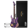 ESP Kirk Hammett Limited Edition Ouija Purple Sparkle Electric Guitar With Hard Case & Signed COA