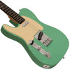 Sawtooth ET Series Left-Handed Electric Guitar, Surf Green with Aged White Pickguard
