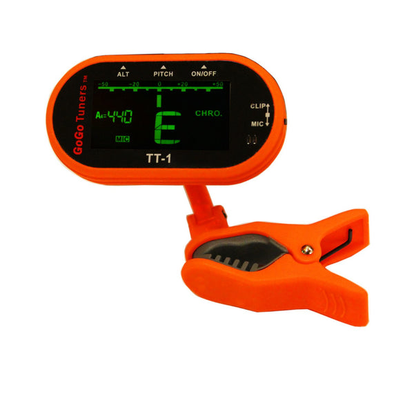 GoGo Tuners Clip on Chromatic Instrument Tuner
