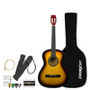 Rise by Sawtooth Petite Size Steel String Acoustic Guitar Beginner Pack, Sunburst