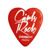 "ChromaCast ""Girls Rock"" Heart Shaped Pick 12 Pack in Light, Medium and Heavy Gauge"