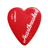 "ChromaCast ""Heartbreaker"" Heart Shaped Pick 12 Pack in Light, Medium and Heavy Gauge"