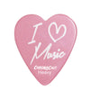 "ChromaCast ""I Love Music"" Heart Shaped Pick 12 Pack in Light, Medium and Heavy Gauge"