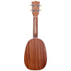Kala Satin Mahogany Pineapple Soprano Ukulele with Kala Bag