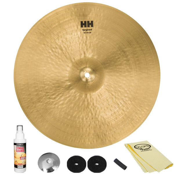 "Sabian 16"" HH Vanguard Crash with ChromaCast Accessories"