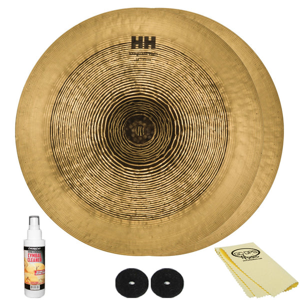 Sabian 14 HH Vanguard Hats with ChromaCast Accessories
