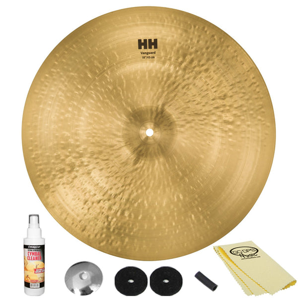 "Sabian 18"" HH Vanguard Crash with ChromaCast Accessories"