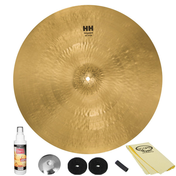 "Sabian 20"" HH Vanguard Ride with ChromaCast Accessories"
