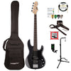 ESP/LTD B Series AP-204 4-String Electric Bass Guitar with Gig Bag & Accessories