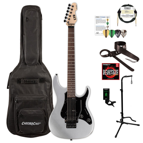 ESP/LTD SN Series SN-200FR ROSEWOOD Electric Guitar with ChromaCast Gig Bag & Accessories