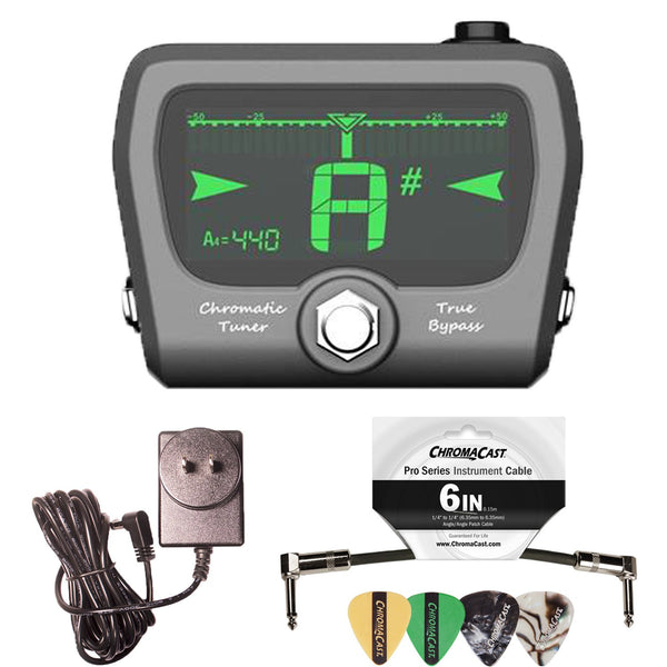 GoGo Tuners Horizon Pedal Tuner with ChromaCast Accessories