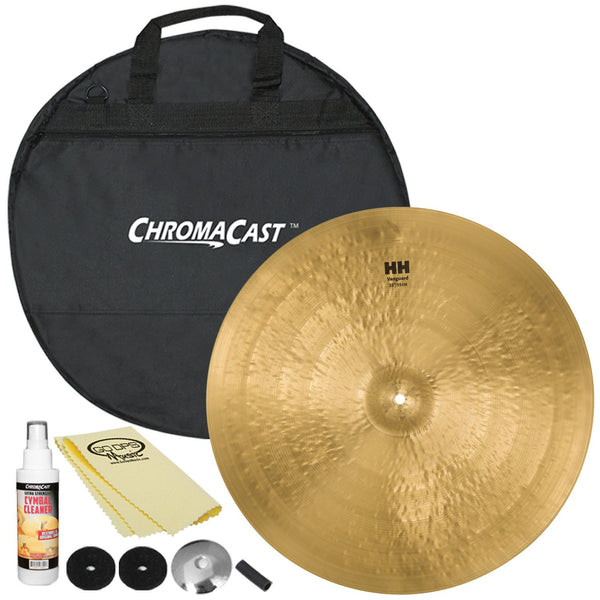 "Sabian 22"" HH Vanguard Ride with ChromaCast Cymbal Bag & Accessories"