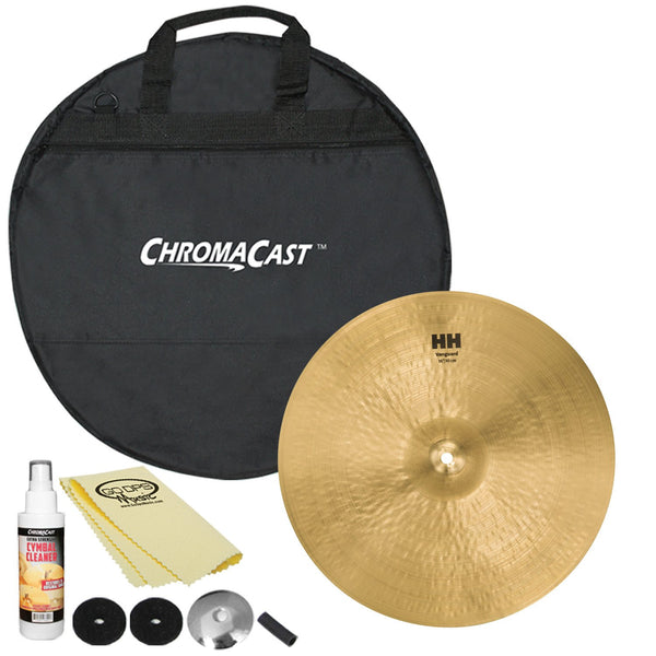 "Sabian 16"" HH Vanguard Crash with ChromaCast Cymbal Bag & Accessories"