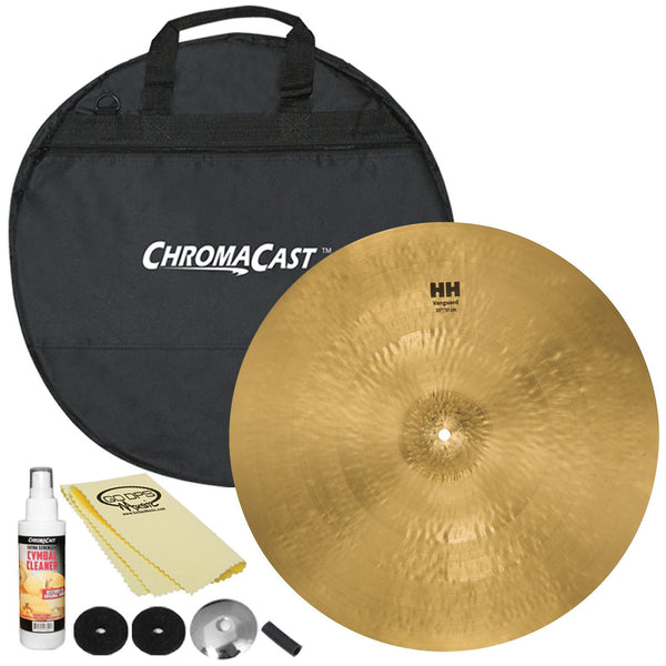 "Sabian 20"" HH Vanguard Ride with ChromaCast Cymbal Bag & Accessories"