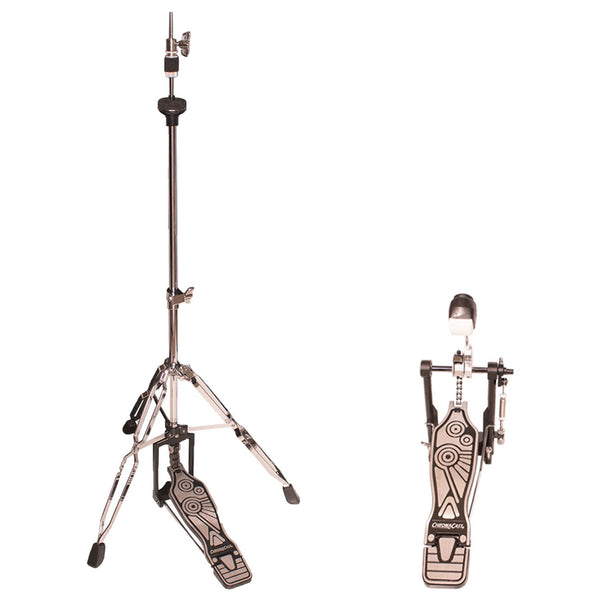 ChromaCast Value Series Double Braced Hi Hat Stand and Chain Drive Pedal