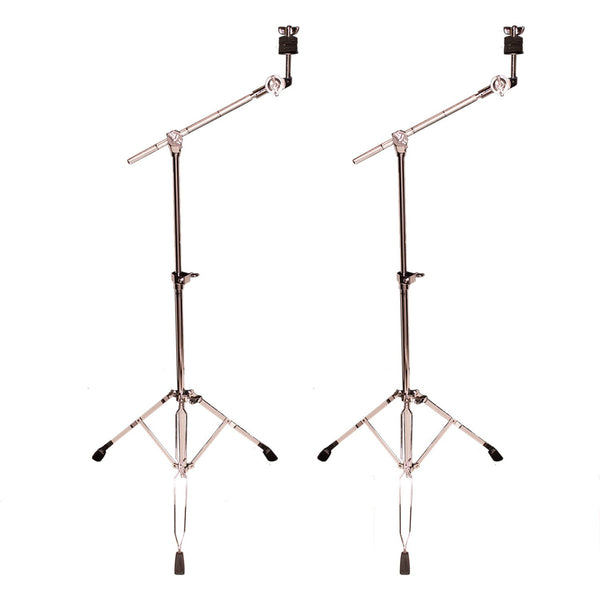 ChromaCast Value Series Double Braced Boom Cymbal Stand, 2 Pack