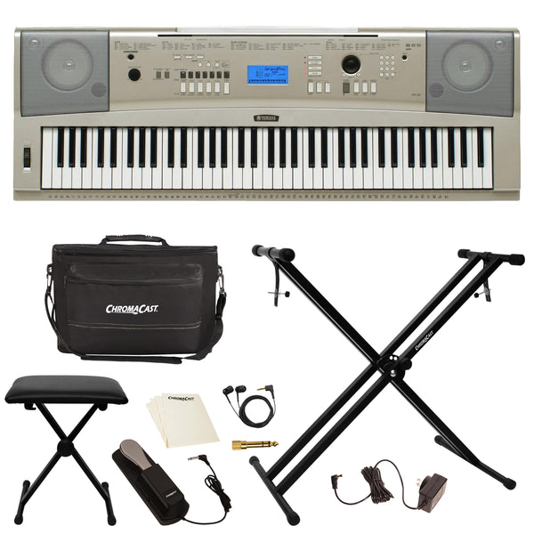 Yamaha YPG-235 76-Key Portable Grand Piano with Accessories