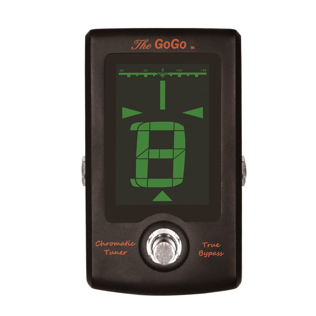 GoGo Tuners The GoGo Pedal Tuner, Black