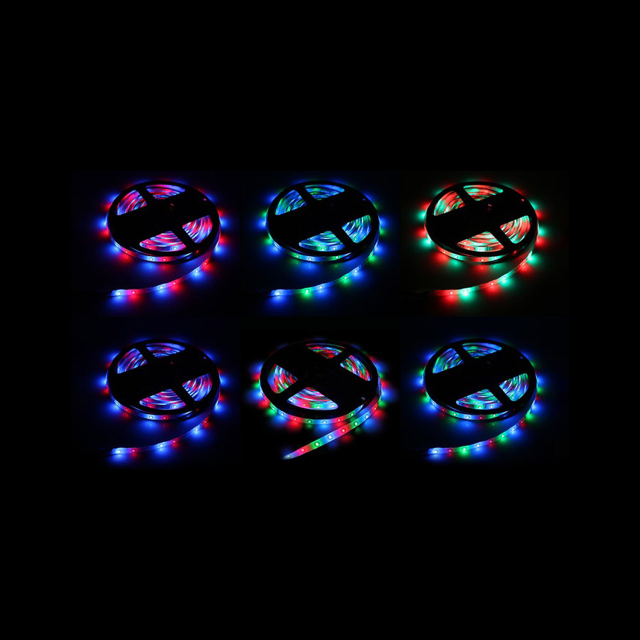 Chromacast waterproof flexible led light strip kit rgb led lights chromacast waterproof flexible led light strip kit rgb led lights with adhesive includes remote control aloadofball Images