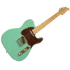 Sawtooth Classic ET 50 Ash Body Electric Guitar, Surf Green w/ Tortoise Pickguard