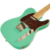 Sawtooth ET Series Electric Guitar Kit, Surf Green with Tortoise Pickguard & Accessory Bundle