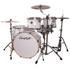 "Sawtooth Command Series 6-Piece Drum Shell Pack with 24"" Bass Drum, White Oyster"