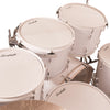 "Sawtooth Command Series 7-Piece Drum Shell Pack with 22"" Bass Drum, White"