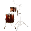 "Sawtooth Command Extension Tom Pack, 8"" Tom & 14"" Floor Tom, Red Streak"