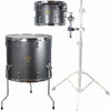 "Sawtooth Command Extension Tom Pack, 9"" Tom & 16"" Floor Tom, Silver Sparkle"