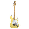 Sawtooth Citron Vanilla Cream ES Series Electric Guitar w/ White Pickguard - Includes: Accessories & 10-Watt Amp