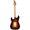 Sawtooth Sunburst ES Series Electric Guitar w/ Vintage White Pickguard - Includes: Accessories, Amp, Gig Bag & Online Lesson