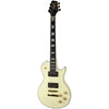 Sawtooth Heritage 70 Series Maple Top Electric Guitar, Antique White
