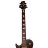 Sawtooth Heritage Series Left-Handed Maple Top Electric Guitar, Satin Black