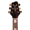 Sawtooth Heritage Series Left-Handed Maple Top Electric Guitar with ChromaCast Pro Series LP Body Style Hard Case & Accessories, Satin Black