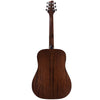 Sawtooth Mahogany Series Dreadnought Acoustic Electric Guitar with ChromaCast Pro Series Gig Bag & Pick Sampler