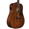 Sawtooth Mahogany Series Dreadnought Acoustic Electric Guitar with Mahogany Back and Sides