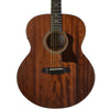 Sawtooth Mahogany Series Jumbo Acoustic Electric Guitar with ChromaCast Pro Series Gig Bag & Pick Sampler