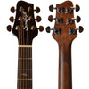 Sawtooth Mahogany Series Parlor Acoustic Electric Guitar with ChromaCast Gig Bag & Accessories