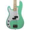 Sawtooth Left-Handed EP Series Electric Bass Guitar, Surf Green w/ Pearl Pickguard