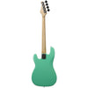 Sawtooth EP Series Electric Bass Guitar, Surf Green w/ Pearl Pickguard