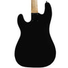 Sawtooth EP Series Electric Bass Guitar, Satin Black w/ Black Pickguard